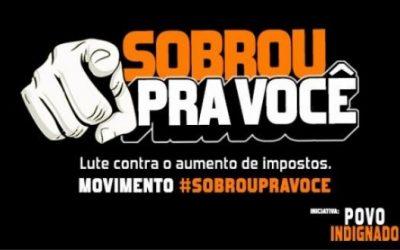 Movimento 'Sobrou Pra Você' entrega manifesto a relator da Reforma Tributária
